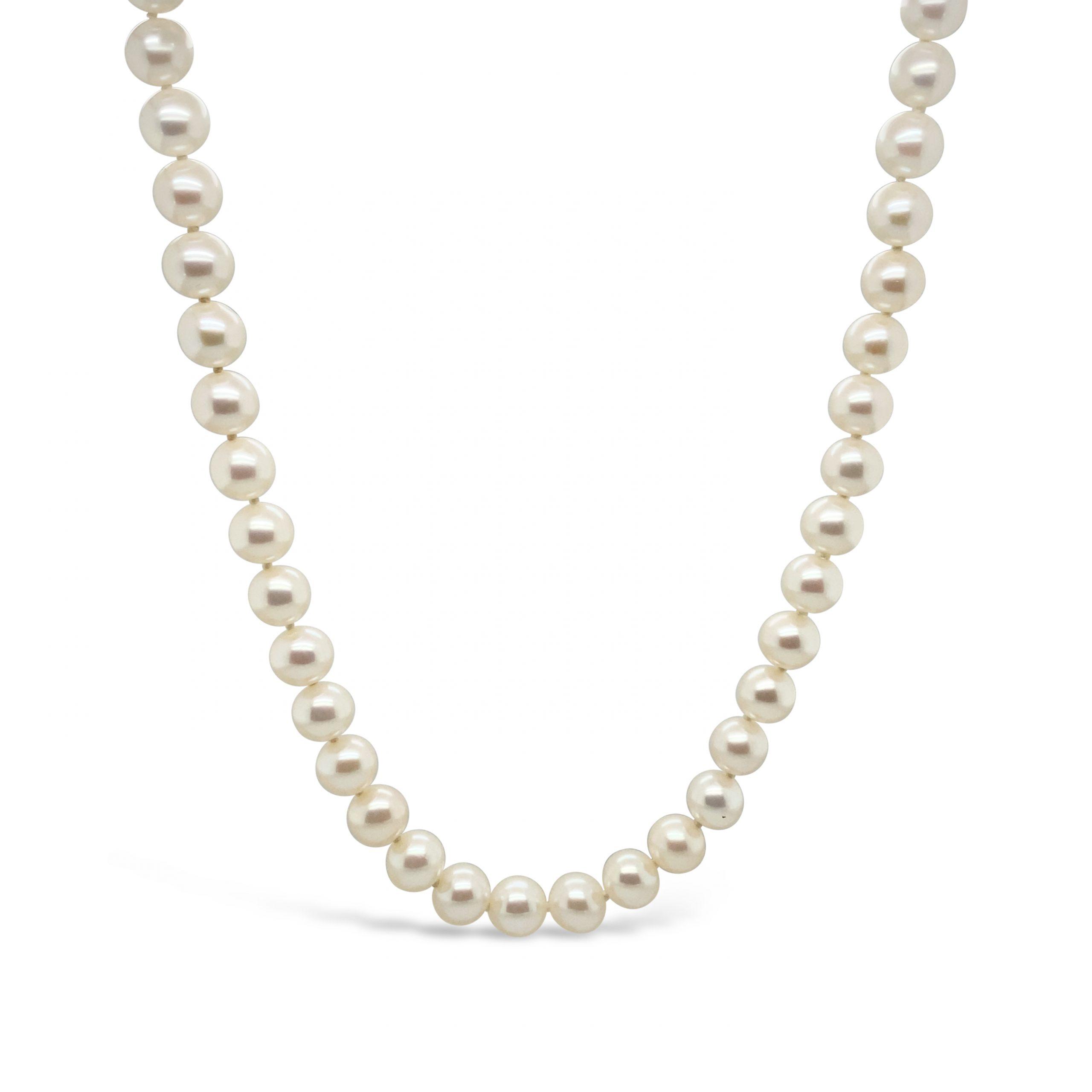 Collar Perlas Japonesas