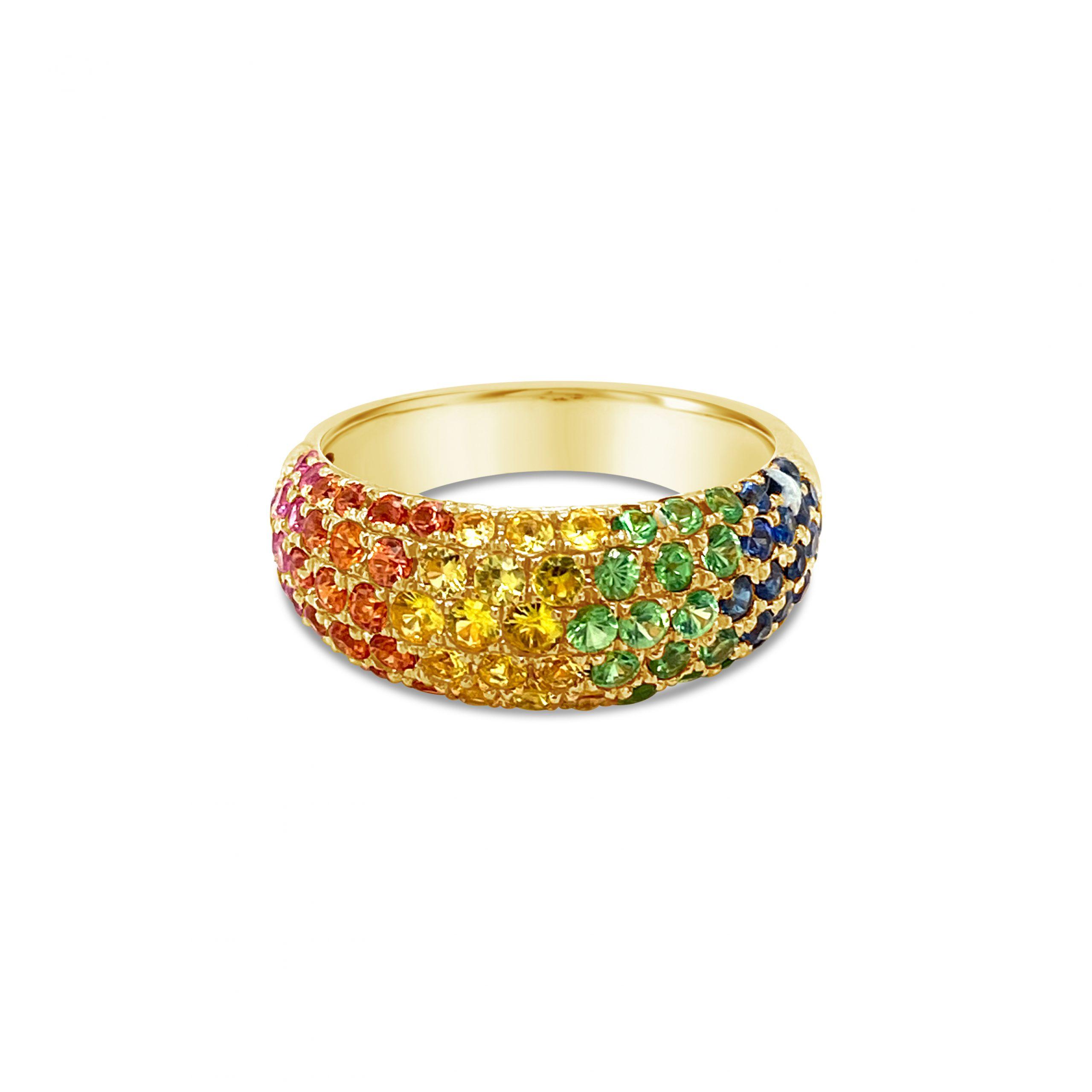 Anillo Rainbow