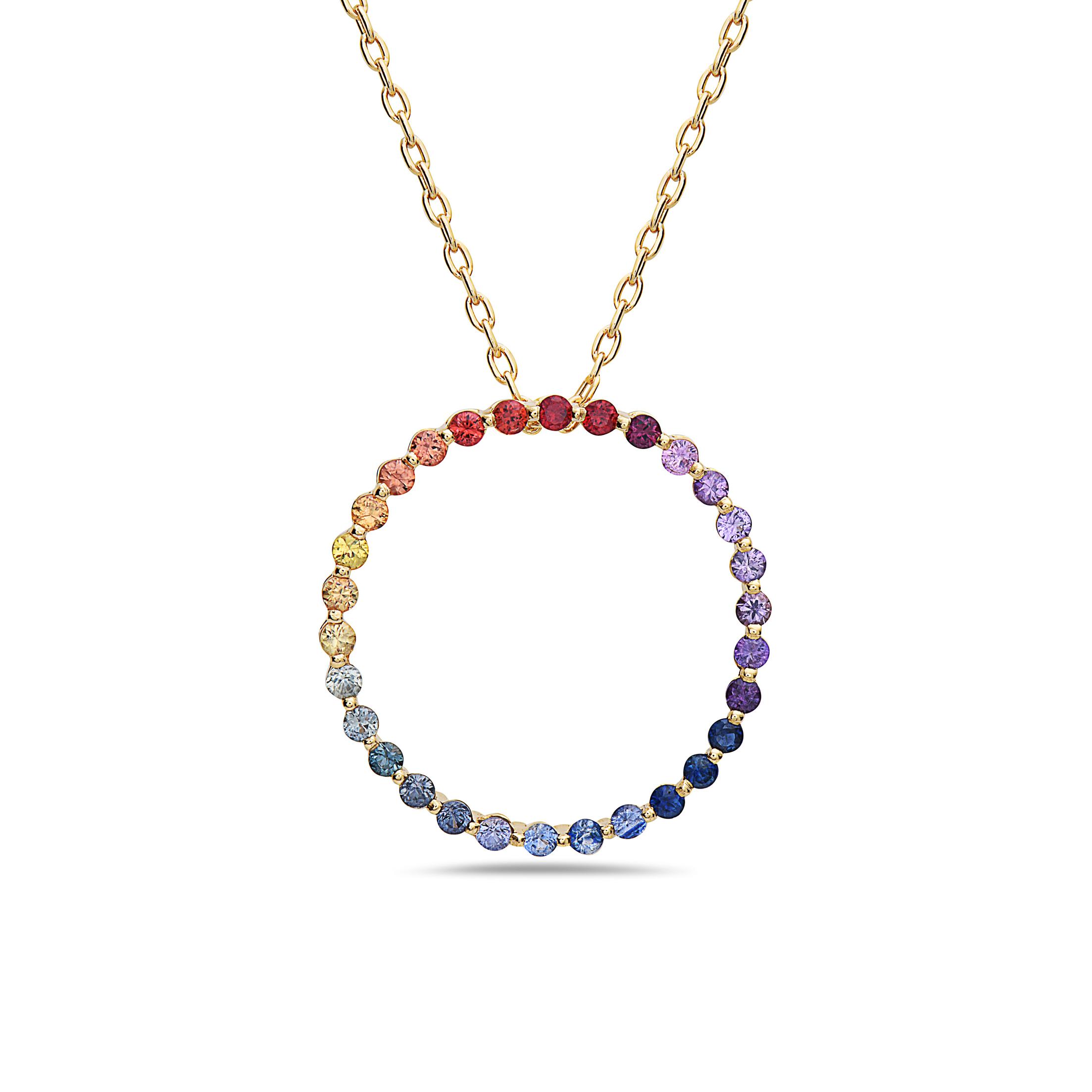 Pendantif Círculo Multicolor