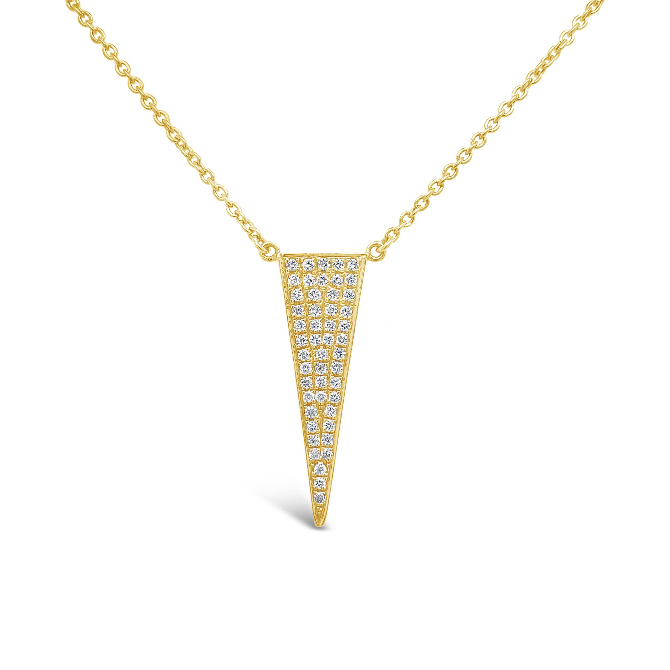 Pendantif Triángulo Brillantes