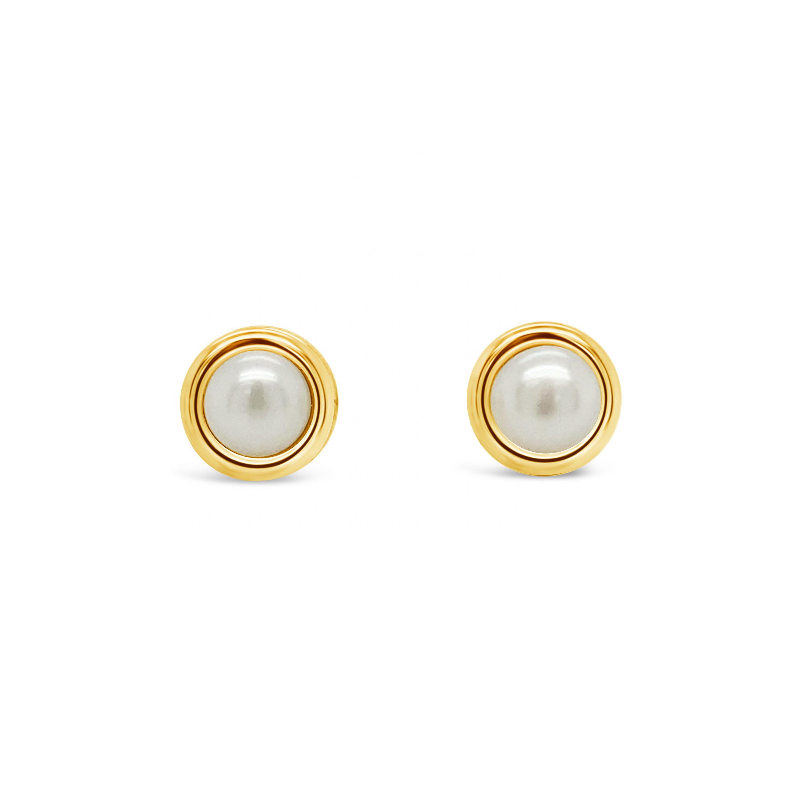 Aretes Perlas 5mm
