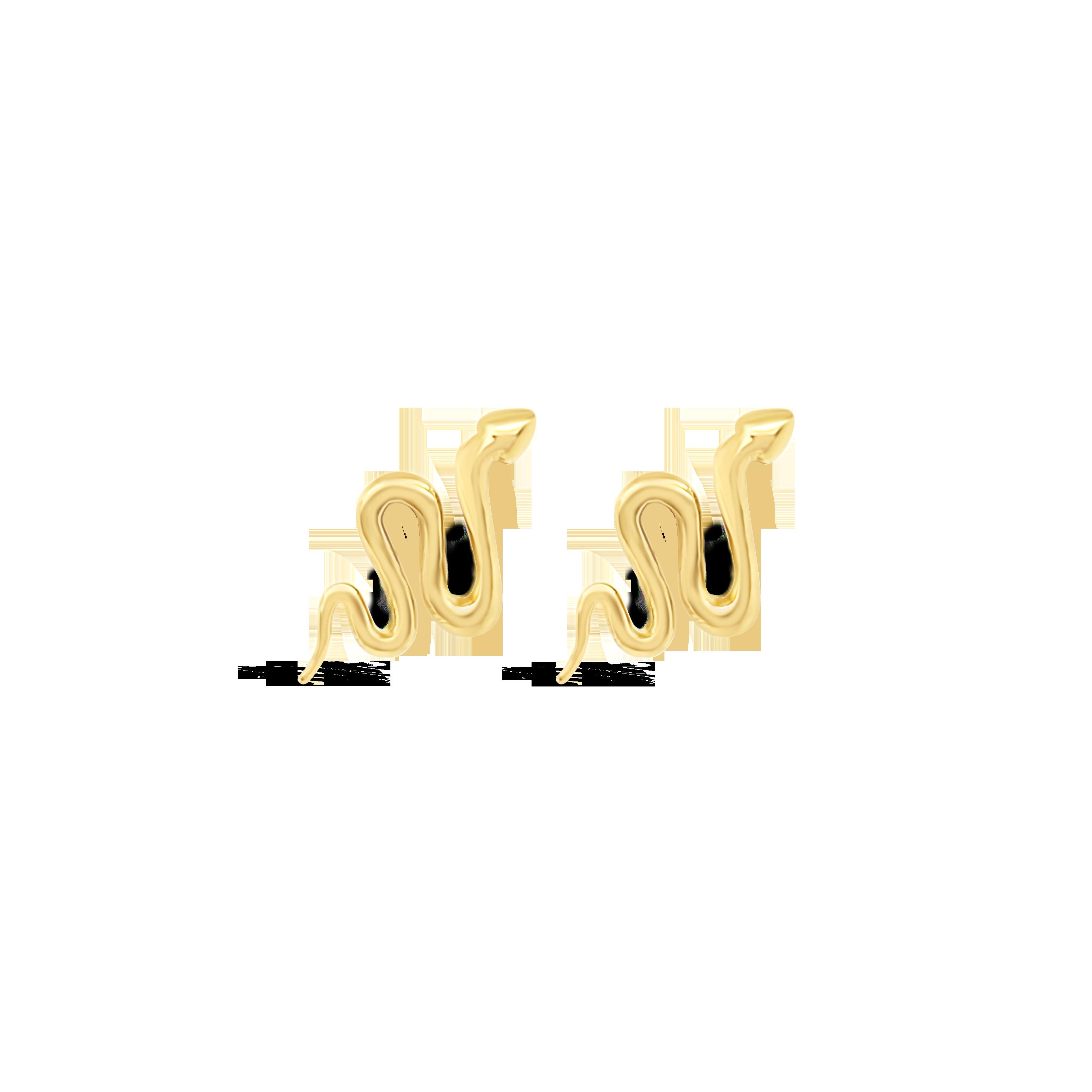 Aretes Serpiente